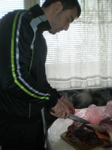 IMGP5873 225x300 Конско месо   новият източник на протеин в диетата ми :)