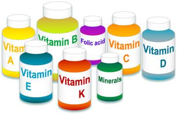vitamins Най добрите 10 витамина