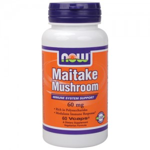 now foods maitake mushroom Шийтаке   еликсир на живота