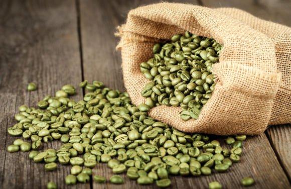green coffee beans in a bag Цена на зелено кафе за отслабване и има ли странични ефекти