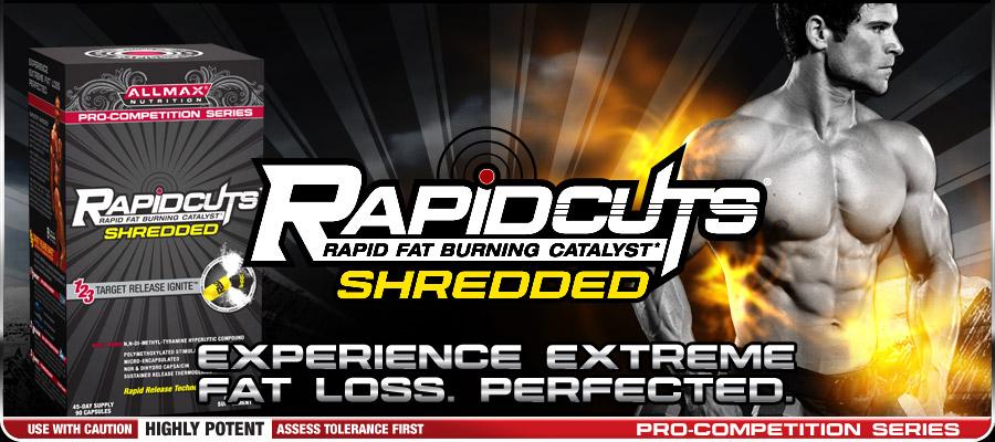 rapidcutsShredded Топ 10 на най добрите Fat Burners