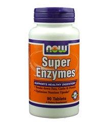 NOW Super Enzymes Caps Как да използвате храносмилателни ензими за отслабване
