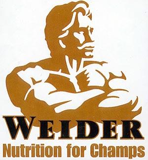 weider log Weider   първата фирма за хранителни добавки