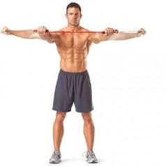 Фитнес ластик за тренировка вкъщи